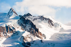 Dufourspitze Royalty Free Stock Images