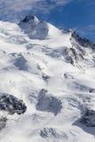 Dufourspitze stock fotografie