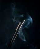 Duft mit Rauche stockfotografie