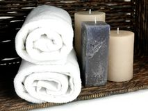 Duftende Kerzen lizenzfreies stockfoto