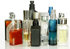 Duftstoff-Flaschen Lizenzfreies Stockbild
