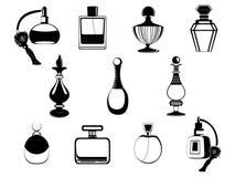Duftstoffflaschen lizenzfreie abbildung