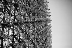 Duga la pulsación de corriente del chornobyl Imagenes de archivo