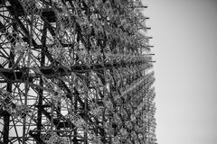 Duga le pivert de chornobyl Images stock