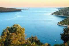 Duga Uvala, Istra, Croácia Fotografia de Stock