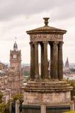 Dugald斯图尔特纪念碑在爱丁堡 免版税库存图片