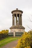Dugald斯图尔特纪念碑, Edimburgh 免版税库存图片