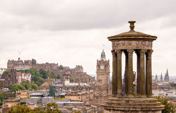 Dugald Stewart Monument i Edinburg Royaltyfri Foto