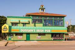Duggan ` s爱尔兰客栈,伍德沃德梦想巡航路线, MI 图库摄影