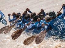 Długi łódkowaty ścigać się Fotografia Royalty Free