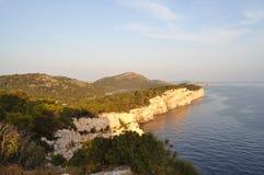 βράχος dugi otok στοκ φωτογραφία