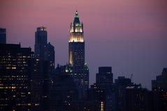 długo wyspy Manhattan Fotografia Royalty Free
