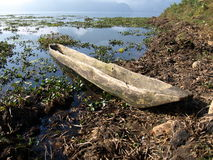Dugout canoe Stock Photography