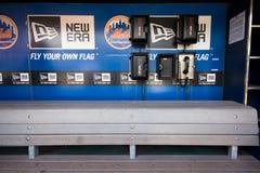 Dugout för NY Mets Arkivfoton