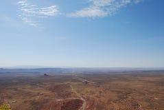 dugway κοιλάδα σημείου muley moki Θεών Στοκ Φωτογραφία