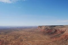 dugway долина пункта muley moki богов Стоковые Фотографии RF