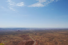 dugway dal för punkt för gudmokimuley Arkivbild