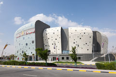 Duhail Handball Sports Hall in Doha, Qatar Royalty Free Stock Photos