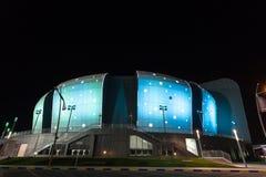 Duhail Handball Sports Hall in Doha, Qatar Stock Image