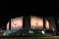 Duhail Handball sporty Hall w Doha, Katar Zdjęcia Stock