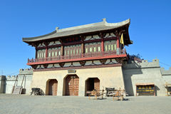 Duhuang Ancient City Ruins. In Gansu province,China Royalty Free Stock Images