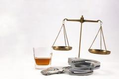 Dui-Rechtsauffassung Lizenzfreies Stockfoto