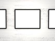 Duidelijk frame Stock Foto's