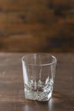 Duidelijk het drinken glas Stock Afbeelding