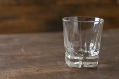 Duidelijk het drinken glas Royalty-vrije Stock Foto