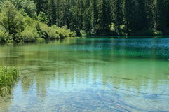 Duidelijk Meer, Oregon Stock Foto