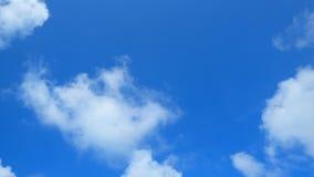Duidelijke blauwe hemelachtergrond Royalty-vrije Stock Afbeeldingen