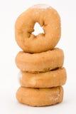 Duidelijke donuts Stock Afbeelding