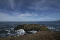 Duidelijke Horizonnen over de Vreedzame Oceaan Royalty-vrije Stock Afbeelding