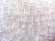 Duidelijke Plastic juwelen Royalty-vrije Stock Foto