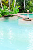 Duidelijke pool Royalty-vrije Stock Afbeelding