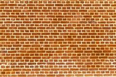 Duidelijke redbrick muur Stock Fotografie