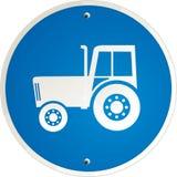 Duidelijke tractor Royalty-vrije Illustratie