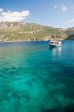 Duidelijke wateren van het Middellandse-Zeegebied stock fotografie