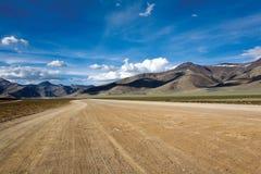Duidelijker bij trans Himalayan Safari Manali aan Leh, Ladakh, India Stock Foto's