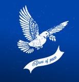 Duif van Vredesvector stock illustratie