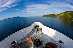 Duik schip Royalty-vrije Stock Fotografie
