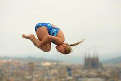 Duiker in Concurrentie van Barcelona Stock Fotografie