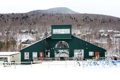 Duikerberg Ski Resort, Lincoln, NH Royalty-vrije Stock Foto