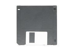3 5-duim diskette Witte achtergrond Stock Fotografie