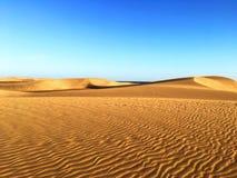 Duin van Maspolamos - Gran Canaria stock afbeelding