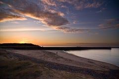 duindorp ηλιοβασίλεμα Στοκ Εικόνα