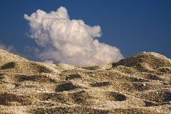 Duinen in de woestijn royalty-vrije stock foto's