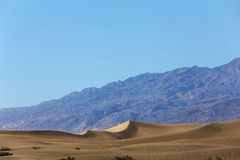 Duinen in het nationale park van de doodsvallei, Californië, de V.S. Royalty-vrije Stock Foto