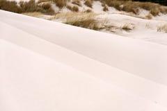 Duinen op Amrum Stock Afbeeldingen