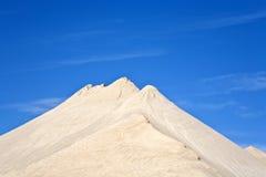Duinen van fijn zand royalty-vrije stock afbeeldingen